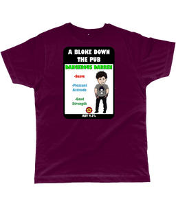 A Bloke Down the Pub Dangerous Darren Pump Clip Classic Cut Men's T-Shirt