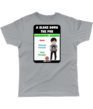 Load image into Gallery viewer, A Bloke Down the Pub Dangerous Darren Pump Clip Classic Cut Men's T-Shirt