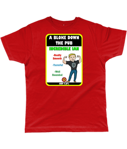 A Bloke Down the Pub Incredible Ian Pump Clip Classic Cut Men's T-Shirt