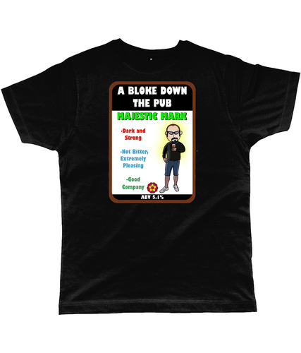 A Bloke Down the Pub Majestic Mark Pump Clip Classic Cut Men's T-Shirt