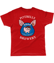 Load image into Gallery viewer, Potbelly Brewery SOAB Pump Clip Classic Cut Men's T-Shirt