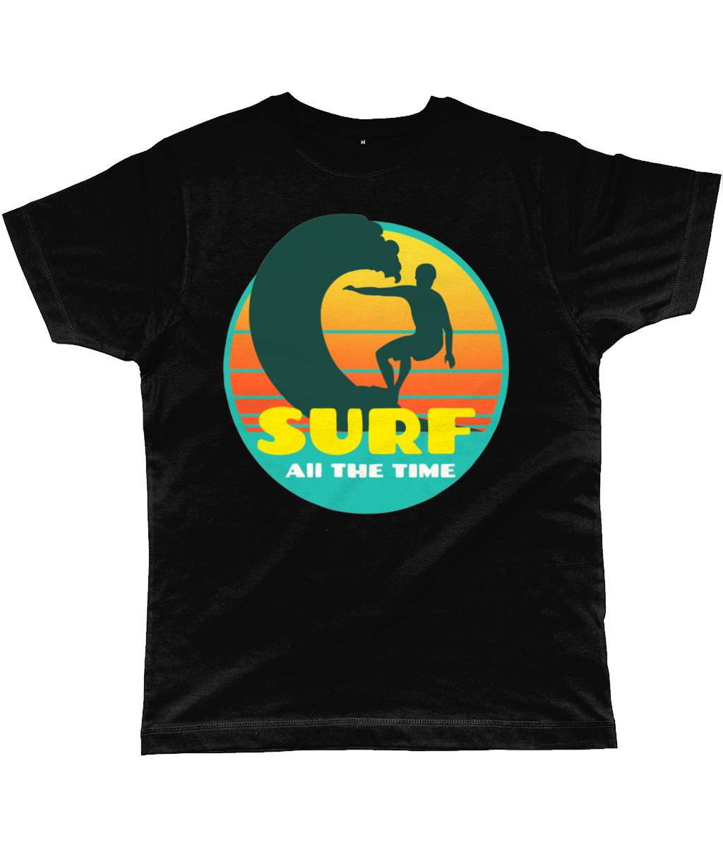 Retro Surf All the Time Classic Cut Men's T-Shirt