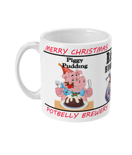 Load image into Gallery viewer, Potbelly Brewery Christmas Beer 11oz Mug