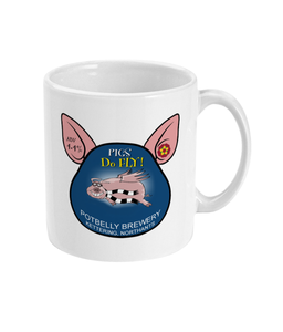 Potbelly Brewery Pigs Do Fly 11oz Mug