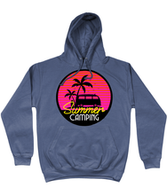 Load image into Gallery viewer, Retro Summer Camping Hoodie
