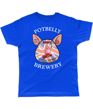 Load image into Gallery viewer, Potbelly Brewery BEST Pump Clip with Wording Classic Cut Men's T-Shirt