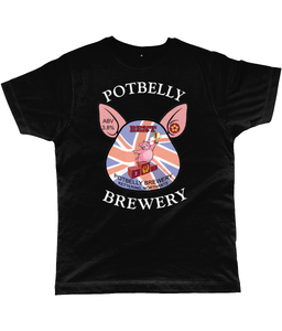Potbelly Brewery BEST Pump Clip with Wording Classic Cut Men's T-Shirt