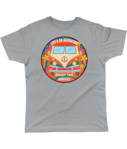 Retro Life's an Adventure Classic Cut Men's T-Shirt