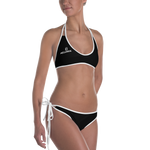 OGM Two-Piece Swimsuit (Black)
