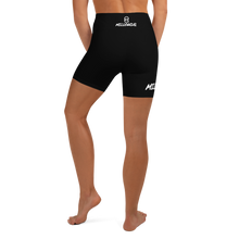Load image into Gallery viewer, OGM Women's Yoga Shorts (Black)