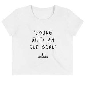 OGM Original Slogan Crop Tee