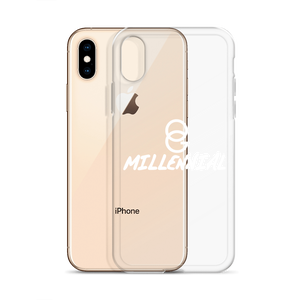 iPhone Case - Clear/White