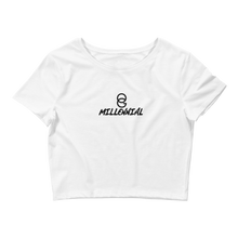 Load image into Gallery viewer, OG Millennial Fitted Crop Tee