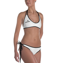 Load image into Gallery viewer, OGM Two-Piece Swimsuit (White)