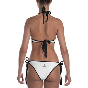 OGM Two-Piece Swimsuit (White)