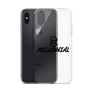 iPhone Case - Clear/Black