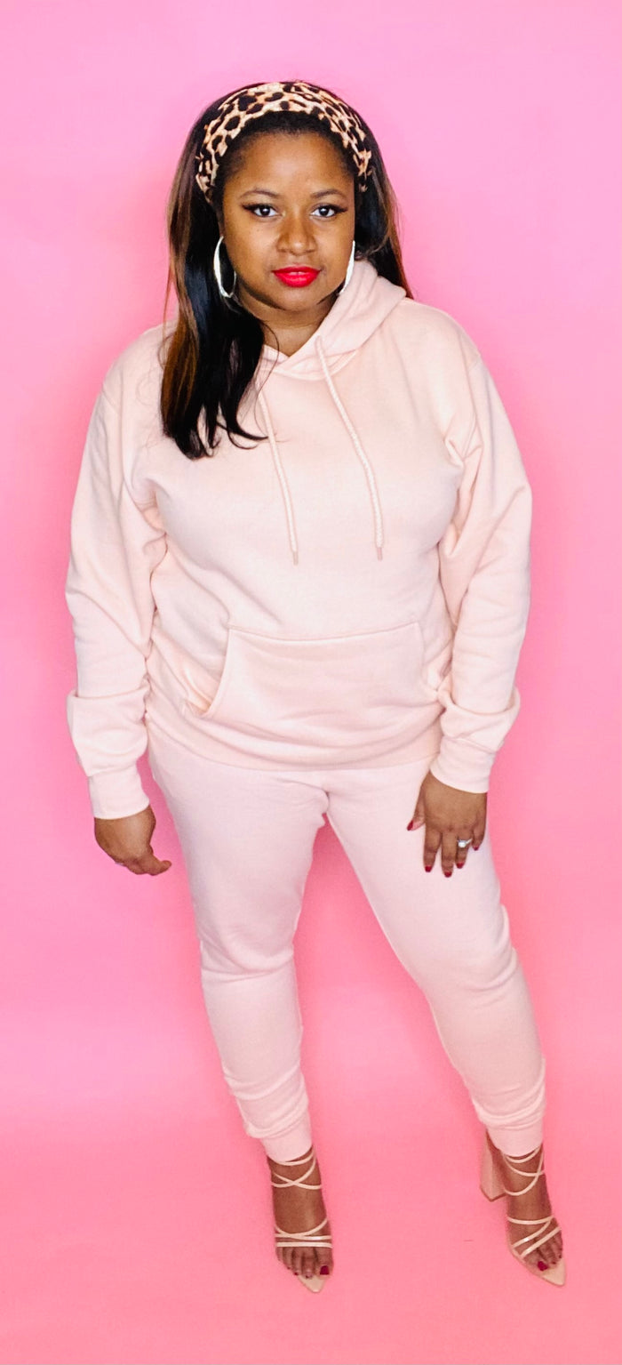 The Classic Sweatsuit (Salmon)