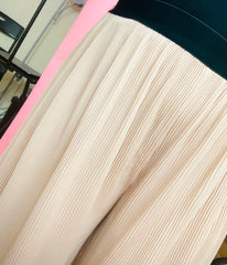 Pleated Gauchos (Nude)