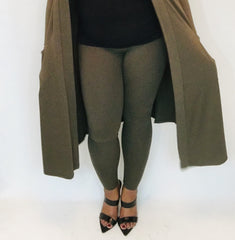 Olive Super Soft Leggings