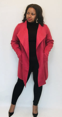Brick Red Jacket