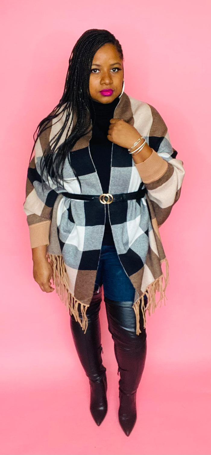 Luxe Wrap (Plaid)