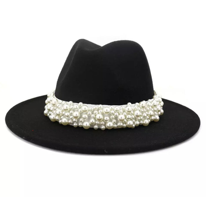Lady Fedora (Black)