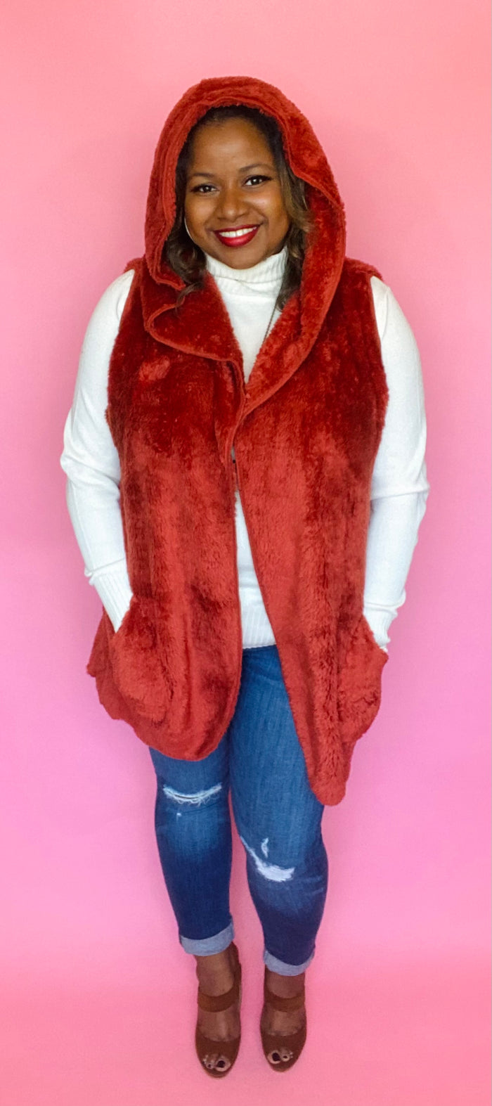 Over-Sized Cozy Vest