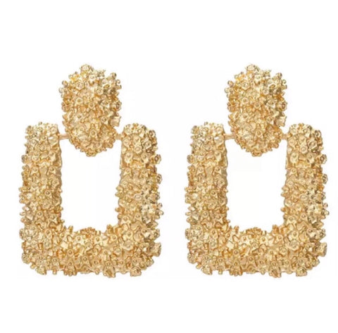 Luxe Doorknocker Earrings