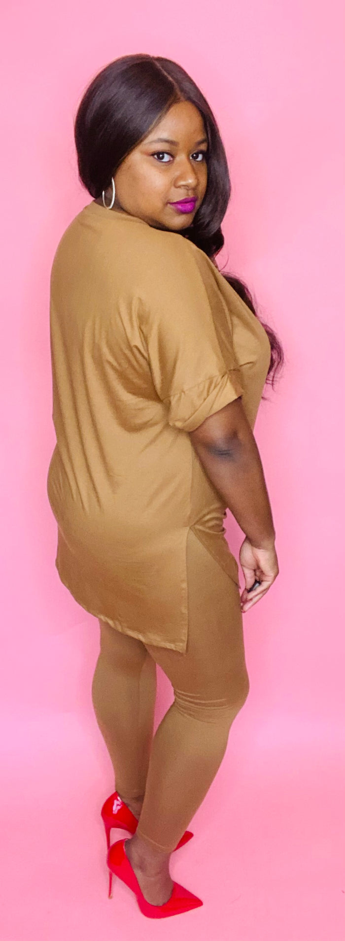 Nubian Nude 2 Pc Set (Caramel)