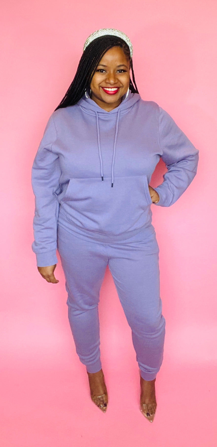 The Classic Sweatsuit (Lavender)