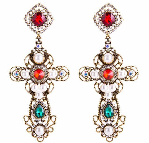 Sasha Cross Earrings