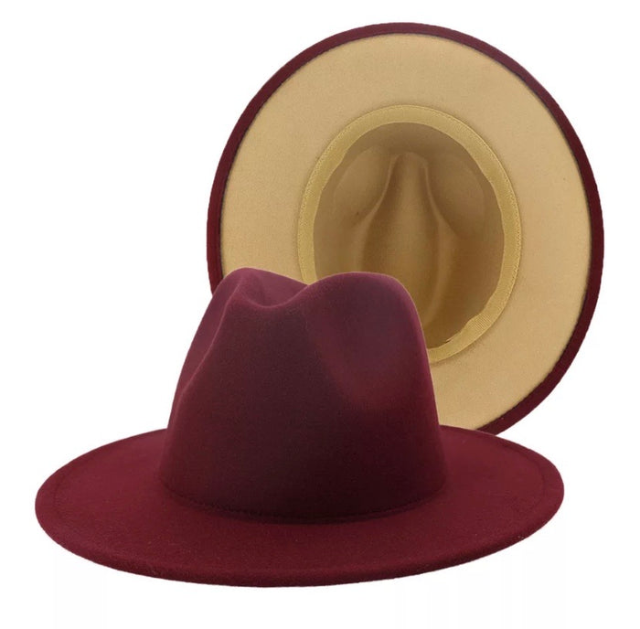 Tan Bottom Hat (Wine)