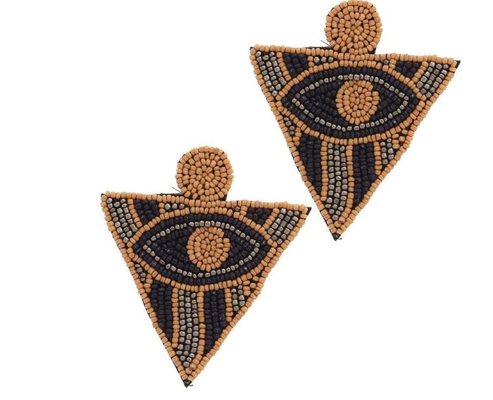 The All Seeing Earrings (Neutral)