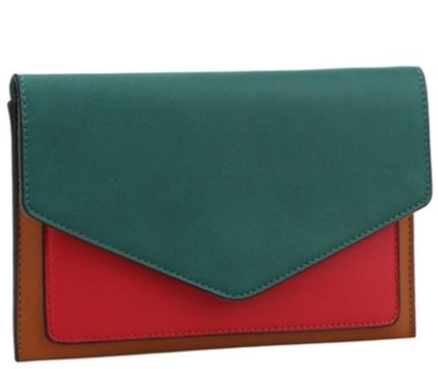 The Evelyn Envelope Clutch