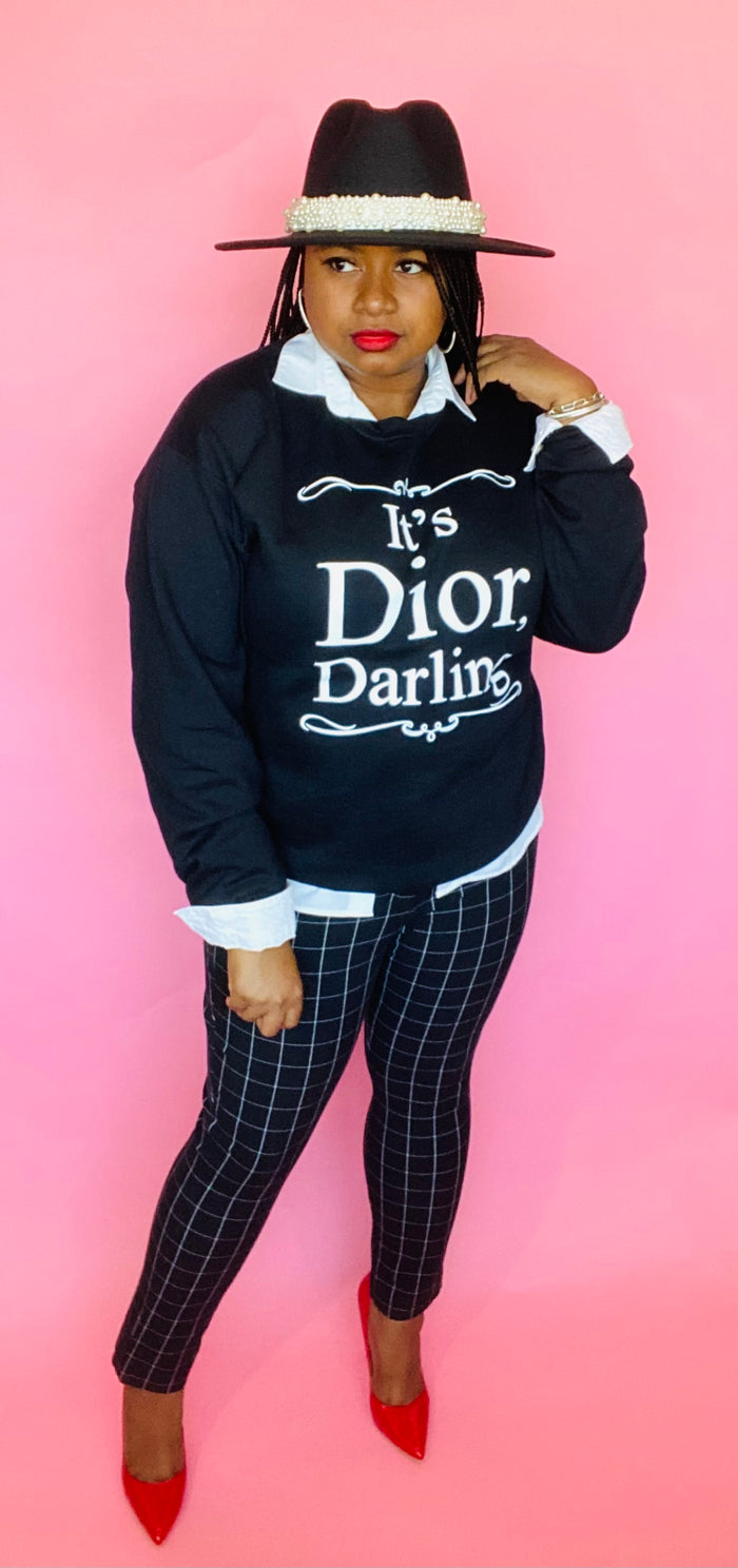 Dior Darling Sweatshirt (Black)