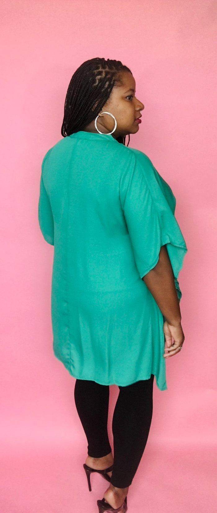 High-Low Shirt (Emerald)
