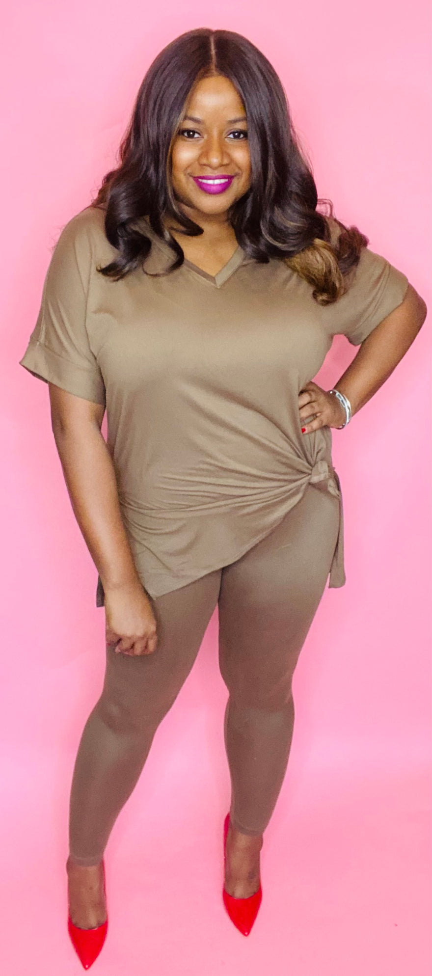 Nubian Nude 2 Pc Set (Mocha Latte)