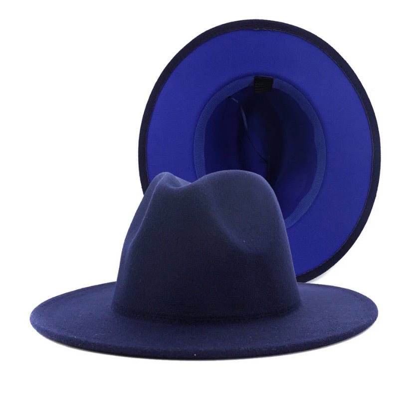 Royal Bottom Hat (Navy)