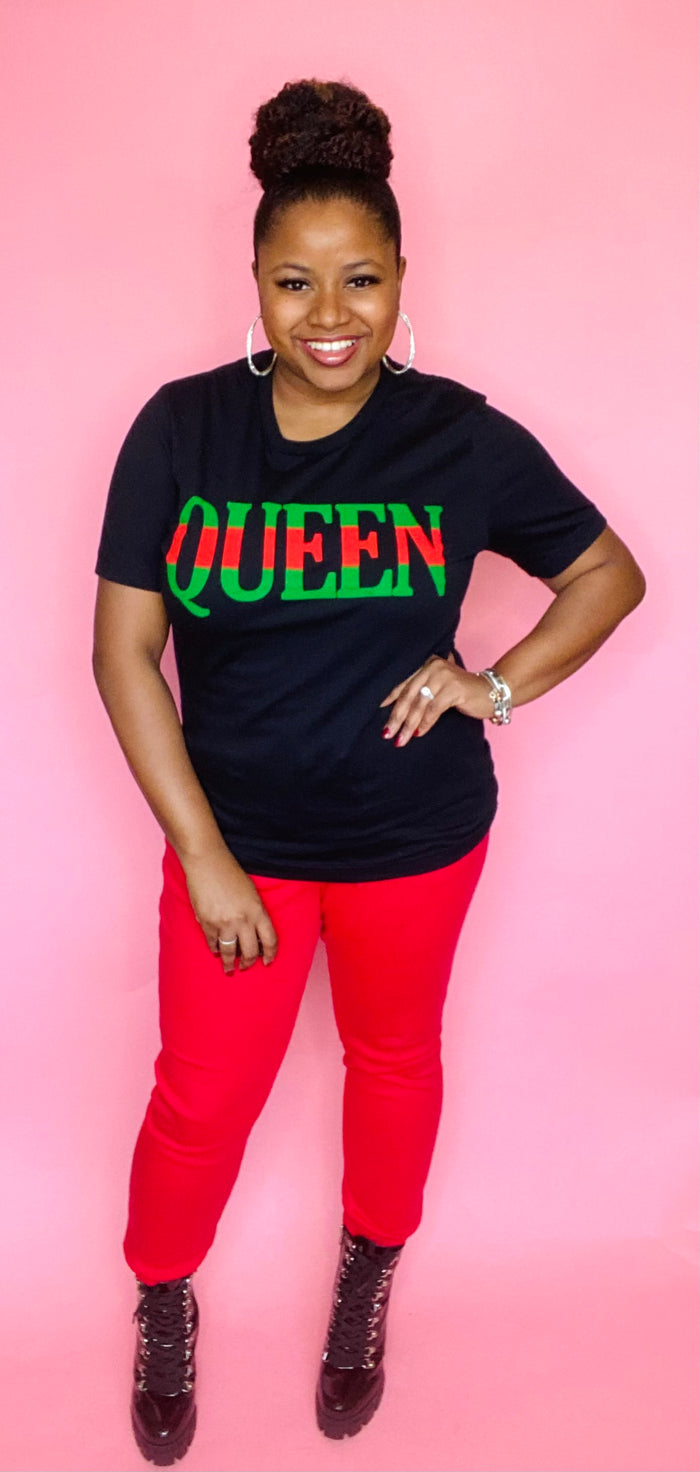 "The ""Cicely"" Queen Tee"