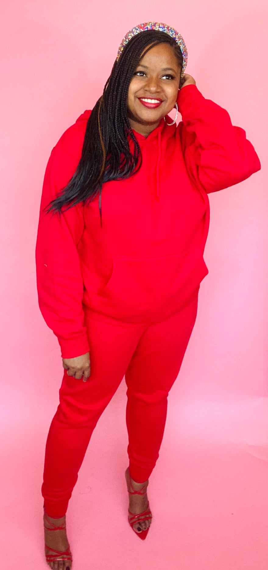 The Classic Sweatsuit (Red)