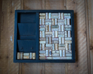 Upcycled Cork Board