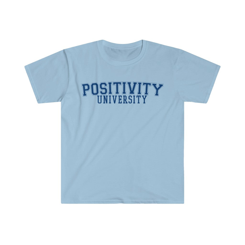 POSITIVITY UNIVERSITY Short Sleeve Tee