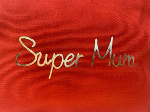 Super Mum make up / accessory bag