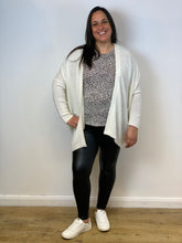 Load image into Gallery viewer, White knit cardigan