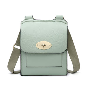Mint Green cross over shoulder bag - Larger size