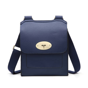 Navy cross over shoulder bag