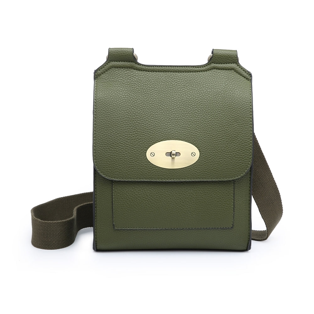 Olive Green cross over shoulder bag