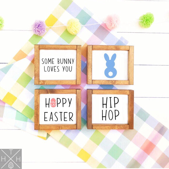 Easter Minis - Handmade Wood Signs