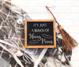 Handmade wood sign, home decor, fall decor, fall signs, Halloween decor, Halloween signs, halloween, hocus pocus, hocus pocus sign, sanderson sisters