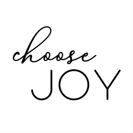 Choose Joy Interchangeable Sign Insert  **INSERT ONLY**